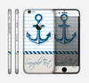 The Blue Highlighted Anchor with Rope Skin for the Apple iPhone 6
