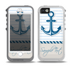 The Blue Highlighted Anchor with Rope Skin for the iPhone 5-5s OtterBox Preserver WaterProof Case