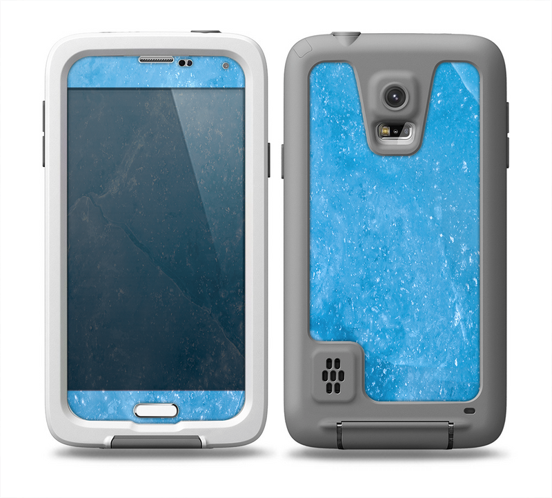 The Blue Ice Surface Skin for the Samsung Galaxy S5 frē LifeProof Case
