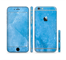 The Blue Ice Surface Sectioned Skin Series for the Apple iPhone 6s