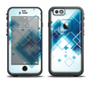 The Blue Levitating Squares Apple iPhone 6/6s LifeProof Fre Case Skin Set