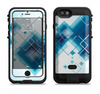 The Blue Levitating Squares Apple iPhone 6/6s LifeProof Fre POWER Case Skin Set