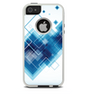 The Blue Levitating Squares Skin For The iPhone 5-5s Otterbox Commuter Case