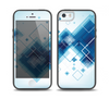 The Blue Levitating Squares Skin Set for the iPhone 5-5s Skech Glow Case