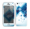 The Blue Levitating Squares Skin for the Apple iPhone 5c