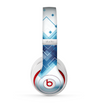The Blue Levitating Squares Skin for the Beats by Dre Studio (2013+ Version) Headphones