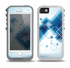The Blue Levitating Squares Skin for the iPhone 5-5s OtterBox Preserver WaterProof Case