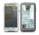 The Blue Marble Layered Bricks Skin for the Samsung Galaxy S5 frē LifeProof Case