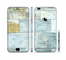 The Blue Marble Layered Bricks Sectioned Skin Series for the Apple iPhone 6s