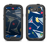 The Blue Martini Drinks With Lemons Samsung Galaxy S4 LifeProof Fre Case Skin Set