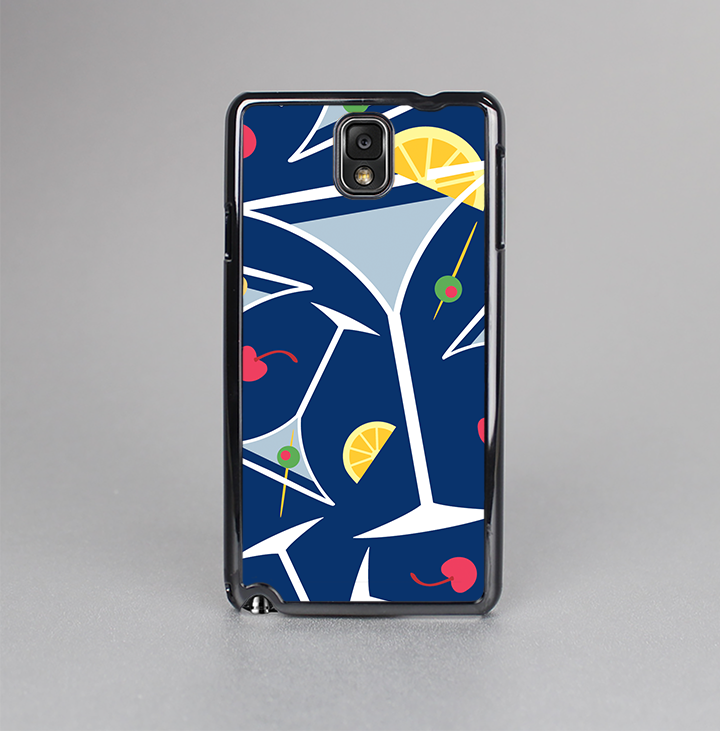 The Blue Martini Drinks With Lemons Skin-Sert Case for the Samsung Galaxy Note 3