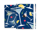 The Blue Martini Drinks With Lemons Full Body Skin Set for the Apple iPad Mini 3