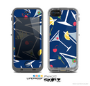 The Blue Martini Drinks With Lemons Skin for the Apple iPhone 5c LifeProof Case