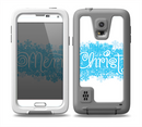 The Blue Merry Christmas Skin for the Samsung Galaxy S5 frē LifeProof Case