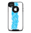 The Blue Merry Christmas Skin for the iPhone 4-4s OtterBox Commuter Case