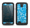 The Blue Nautical Collage Samsung Galaxy S4 LifeProof Fre Case Skin Set