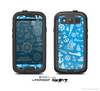 The Blue Nautical Collage Skin For The Samsung Galaxy S3 LifeProof Case