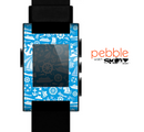 The Blue Nautical Collage Skin for the Pebble SmartWatch