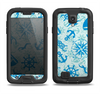 The Blue Nautical Collage V5 Samsung Galaxy S4 LifeProof Fre Case Skin Set