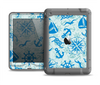 The Blue Nautical Collage V5 Apple iPad Air LifeProof Nuud Case Skin Set