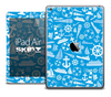 The Blue Nautical Skin for the iPad Air