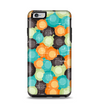 The Blue & Orange Abstract Polka Dots Apple iPhone 6 Plus Otterbox Symmetry Case Skin Set