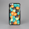 The Blue & Orange Abstract Polka Dots Skin-Sert Case for the Apple iPhone 6 Plus