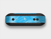 The Blue Painted Brush Texture Skin Set for the Beats Pill Plus