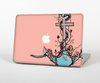 The Blue Pastel Anchor with Roses Skin for the Apple MacBook Pro Retina 15""