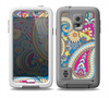 The Blue & Pink Layered Paisley Pattern V3 Skin Samsung Galaxy S5 frē LifeProof Case