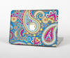 The Blue & Pink Layered Paisley Pattern V3 Skin for the Apple MacBook Pro Retina 15""