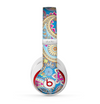 The Blue & Pink Layered Paisley Pattern V3 Skin for the Beats by Dre Studio (2013+ Version) Headphones