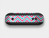 The Blue & Pink Sharp Chevron Pattern Skin Set for the Beats Pill Plus