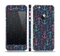 The Blue & Pink Vector Anchor Collage Skin Set for the Apple iPhone 5