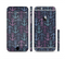 The Blue & Pink Vector Anchor Collage Sectioned Skin Series for the Apple iPhone 6