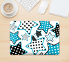 "The Blue Polkadotted Vector Stars Skin Kit for the 12"" Apple MacBook"