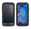 The Blue & Purple Mixed Universe Samsung Galaxy S4 LifeProof Fre Case Skin Set