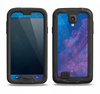 The Blue & Purple Pastel Samsung Galaxy S4 LifeProof Fre Case Skin Set