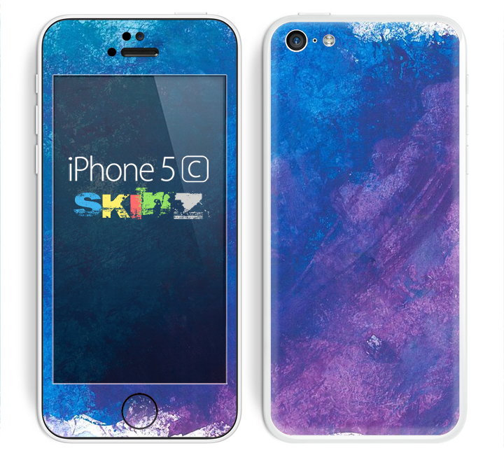 purple iphone 5c the blue amp purple pastel skin for the apple iphone 5c 12820
