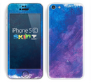 The Blue & Purple Pastel Skin for the Apple iPhone 5c