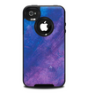 The Blue & Purple Pastel Skin for the iPhone 4-4s OtterBox Commuter Case