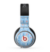 The Blue & Red Nautical Sailboat Pattern Skin for the Beats by Dre Pro Headphones