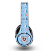 The Blue & Red Nautical Sailboat Pattern Skin for the Original Beats by Dre Studio Headphones
