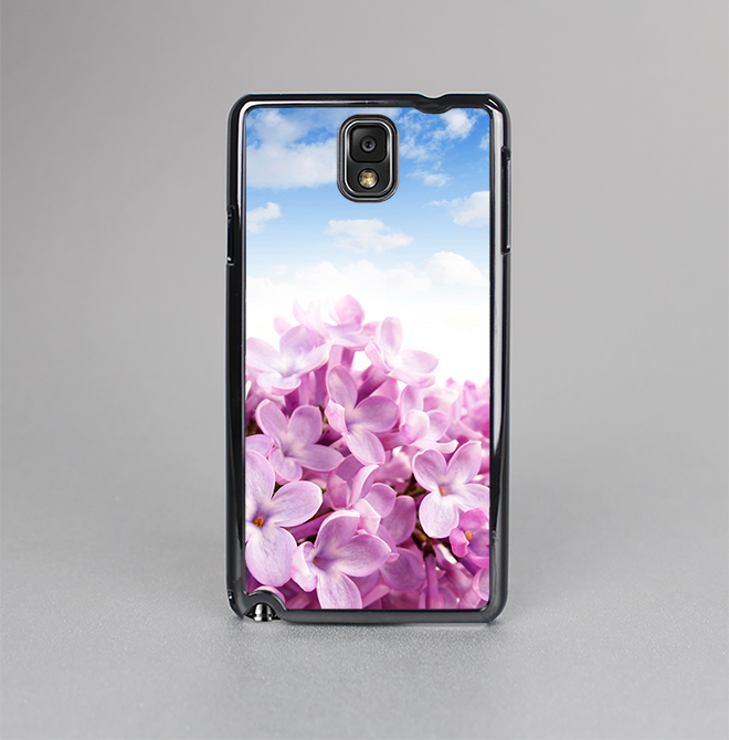 The Blue Sky Pink Flower Field Skin-Sert Case for the Samsung Galaxy Note 3