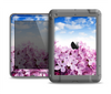 The Blue Sky Pink Flower Field Apple iPad Air LifeProof Nuud Case Skin Set