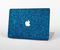 The Blue Sparkly Glitter Ultra Metallic Skin Set for the Apple MacBook Air 13""
