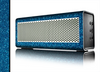 The Blue Sparkly Glitter Ultra Metallic Skin for the Braven 570 Wireless Bluetooth Speaker
