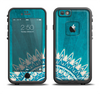 The Blue Spiked Orb Pattern V3 Apple iPhone 6/6s LifeProof Fre Case Skin Set