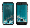 The Blue Spiked Orb Pattern V3 Apple iPhone 6/6s LifeProof Fre POWER Case Skin Set