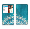 The Blue Spiked Orb Pattern V3 Skin For The Apple iPod Classic